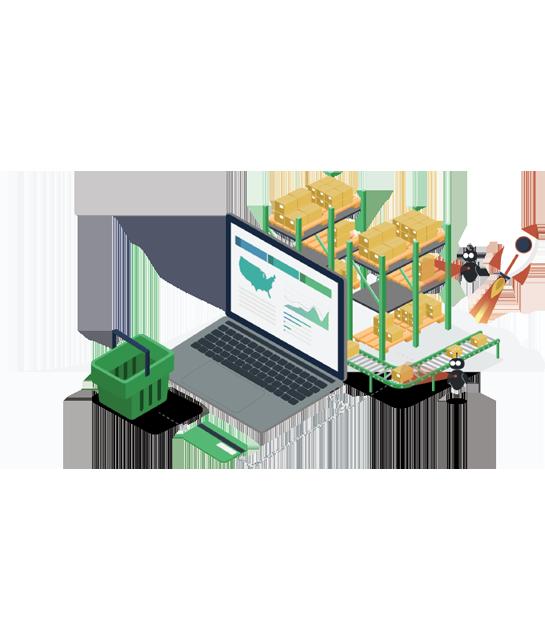 إدارة وشحن وتسليم الطلبات من متجرك الإلكتروني حتى باب العميل